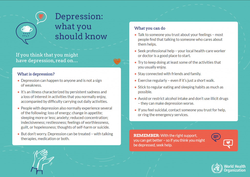 tips for depression